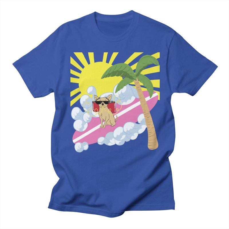 Chihuahua Summer Men's Regular T-Shirt by Hello Siyi