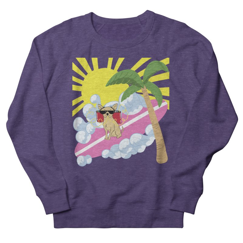 Chihuahua Summer Women's French Terry Sweatshirt by Hello Siyi