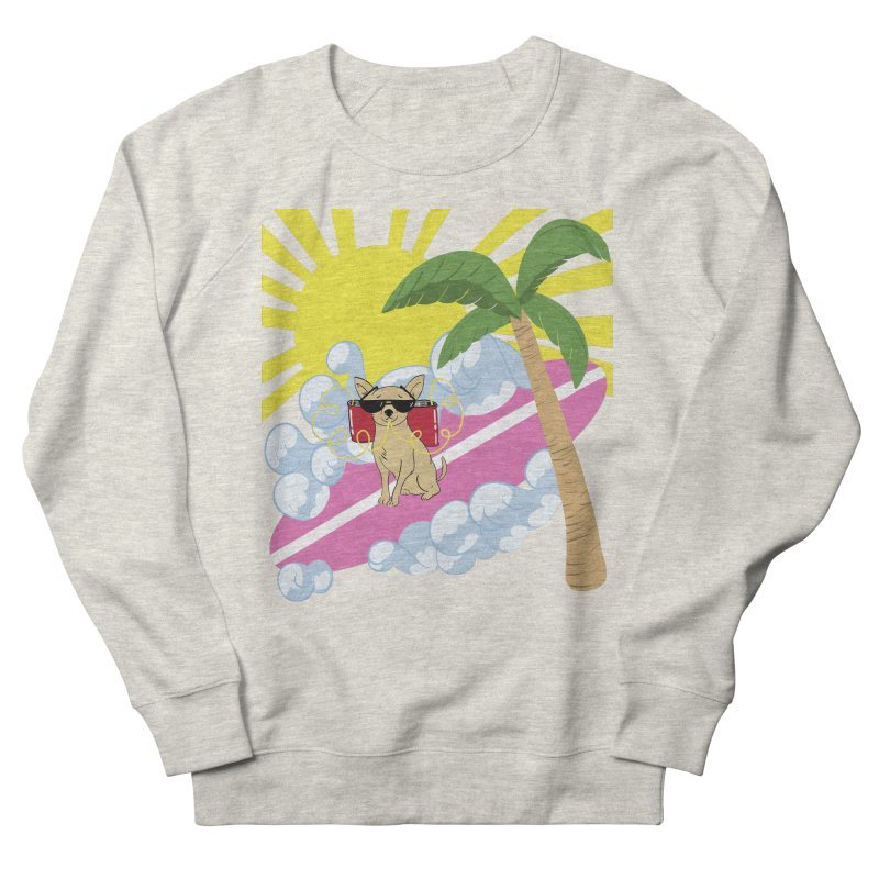 Chihuahua Summer Men's French Terry Sweatshirt by Hello Siyi