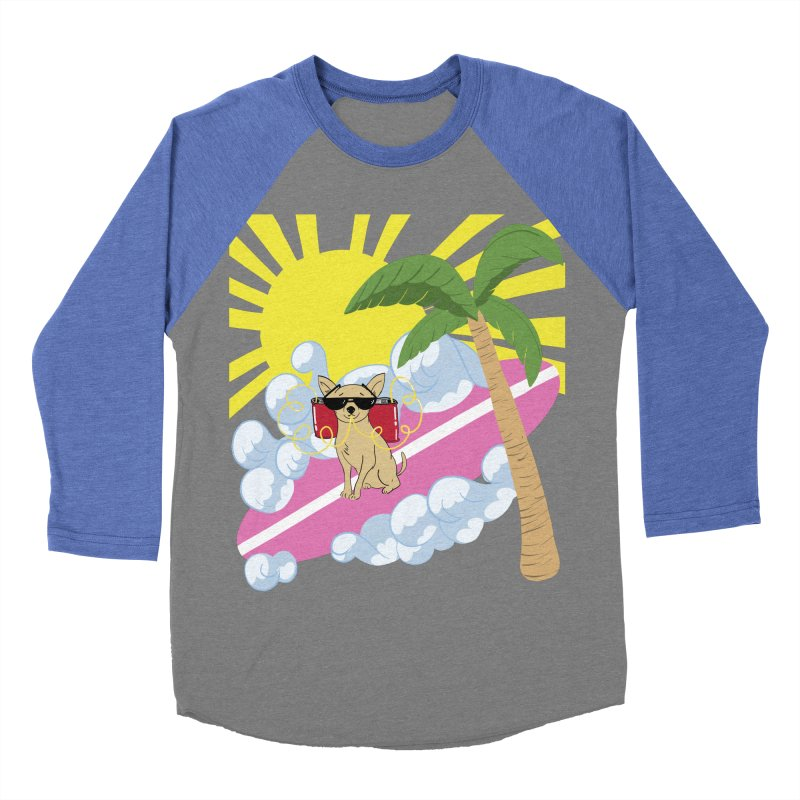 Chihuahua Summer Women's Baseball Triblend Longsleeve T-Shirt by Hello Siyi