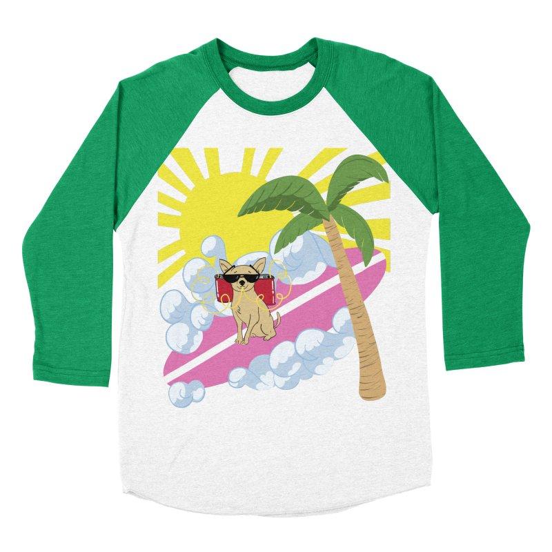 Chihuahua Summer Men's Baseball Triblend Longsleeve T-Shirt by Hello Siyi