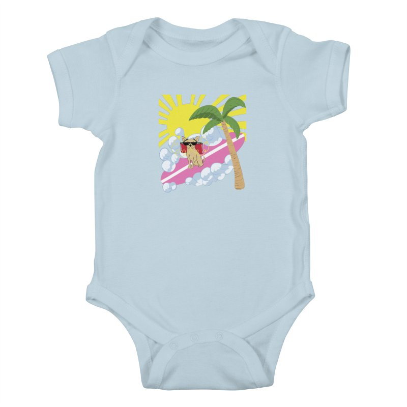 Chihuahua Summer Kids Baby Bodysuit by Hello Siyi