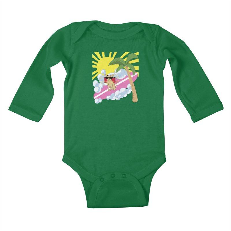 Chihuahua Summer Kids Baby Longsleeve Bodysuit by Hello Siyi