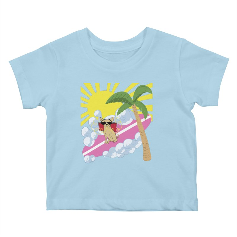 Chihuahua Summer Kids Baby T-Shirt by Hello Siyi