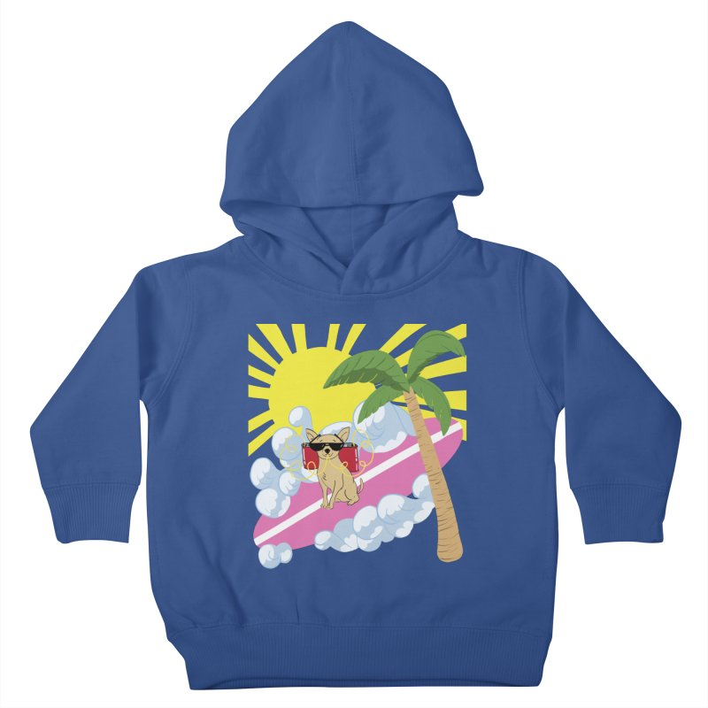 Chihuahua Summer Kids Toddler Pullover Hoody by Hello Siyi