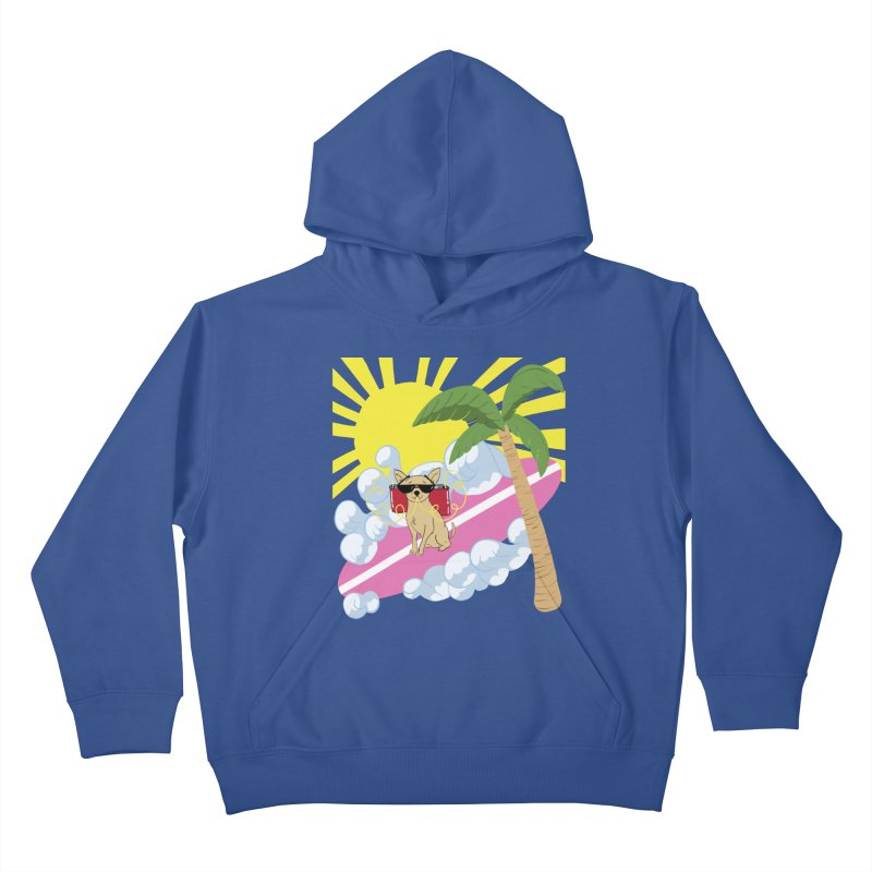 Chihuahua Summer Kids Pullover Hoody by Hello Siyi
