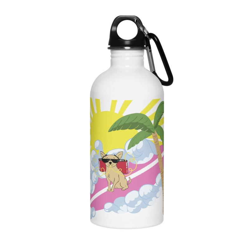 Chihuahua Summer Accessories Water Bottle by Hello Siyi