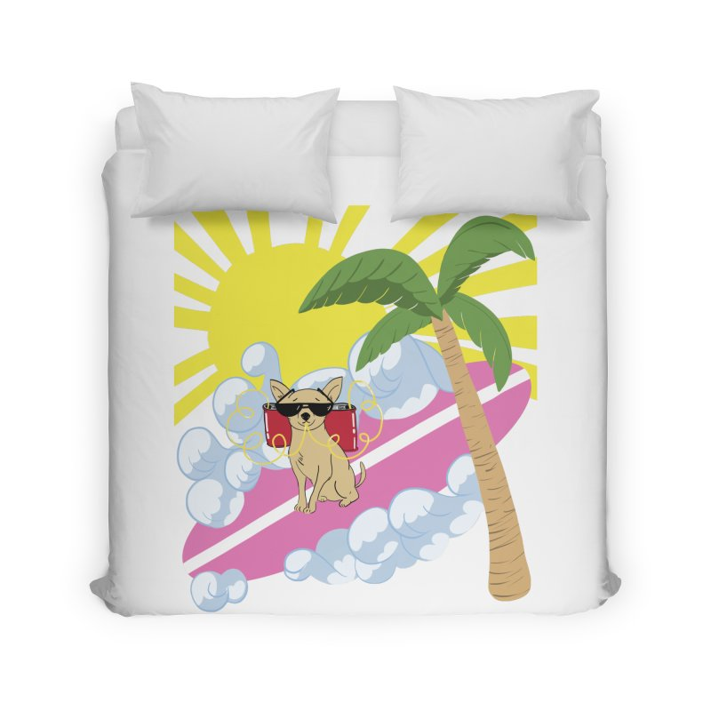 Chihuahua Summer Home Duvet by Hello Siyi