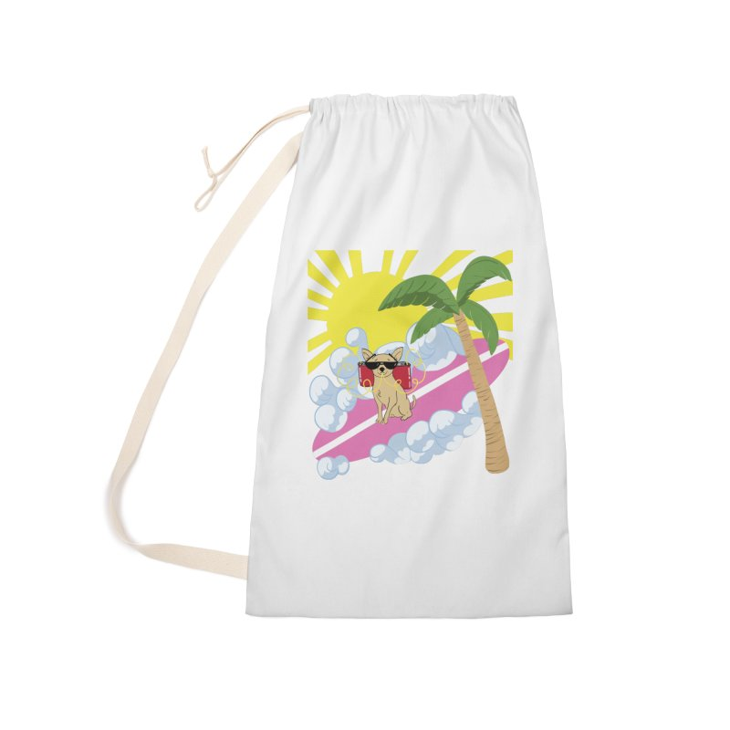 Chihuahua Summer Accessories Laundry Bag Bag by Hello Siyi