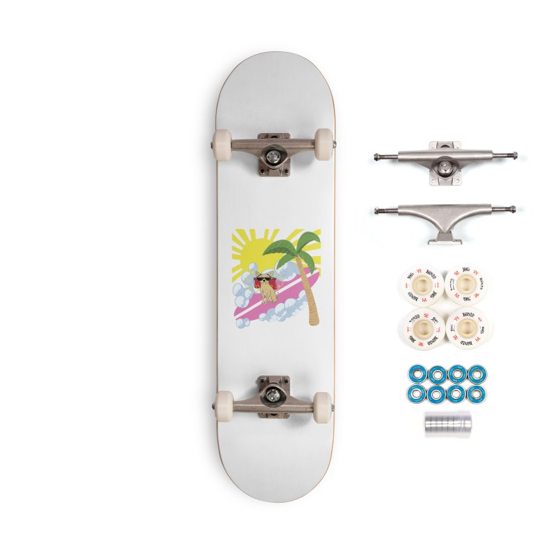 Chihuahua Summer Accessories Complete - Premium Skateboard by Hello Siyi