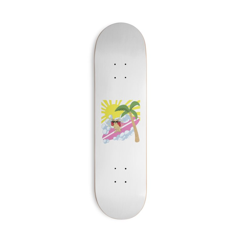 Chihuahua Summer Accessories Deck Only Skateboard by Hello Siyi