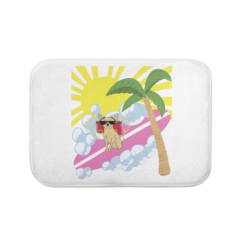 Chihuahua Summer Home Bath Mat by Hello Siyi