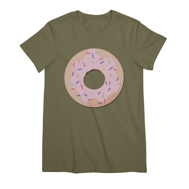 Donut Women's Premium T-Shirt by Hello Siyi