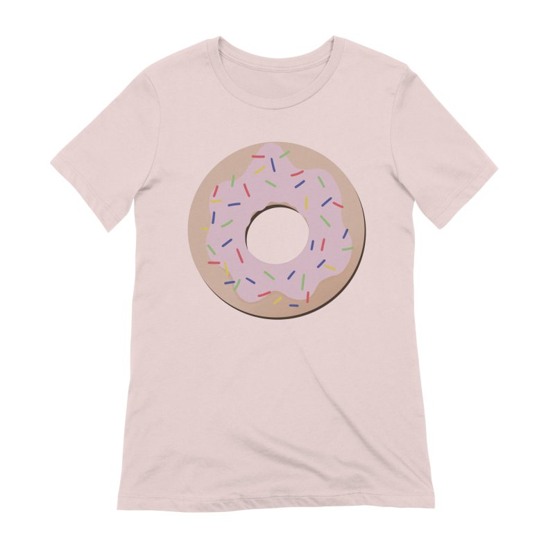 Donut Women's Extra Soft T-Shirt by Hello Siyi