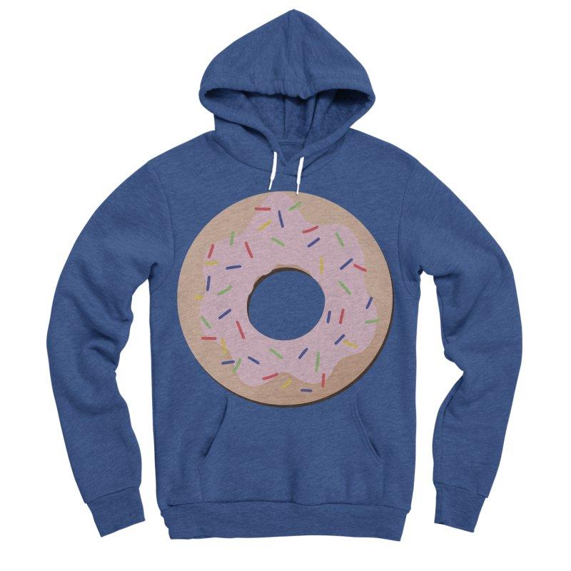 Donut Men's Sponge Fleece Pullover Hoody by Hello Siyi