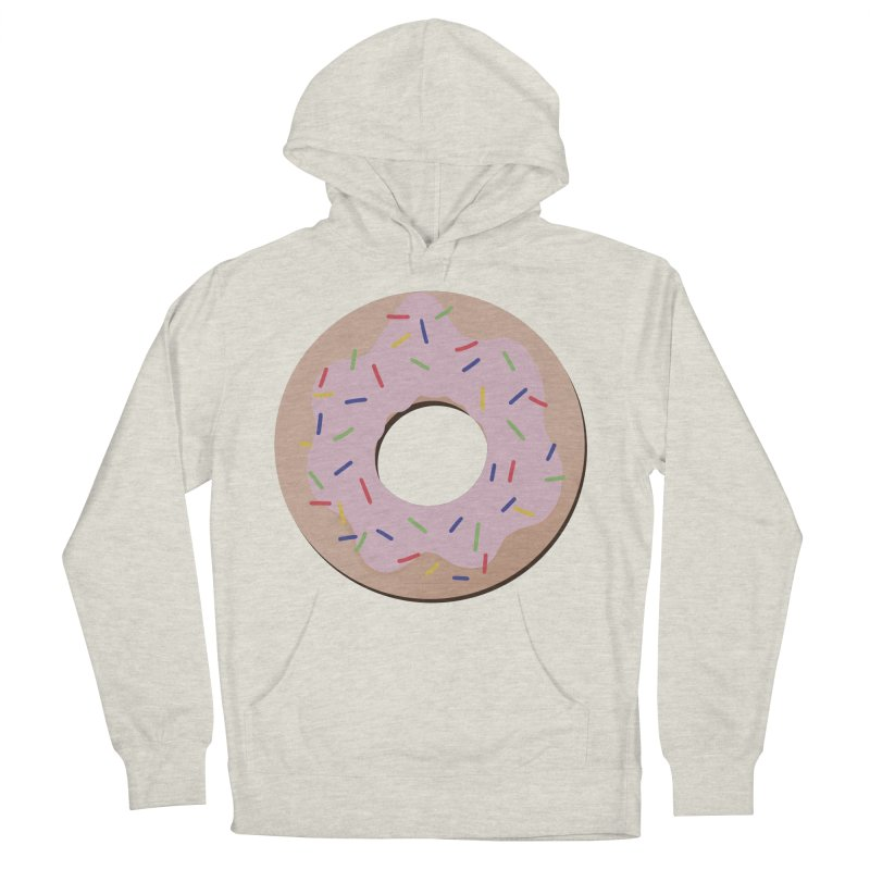 Donut Men's French Terry Pullover Hoody by Hello Siyi