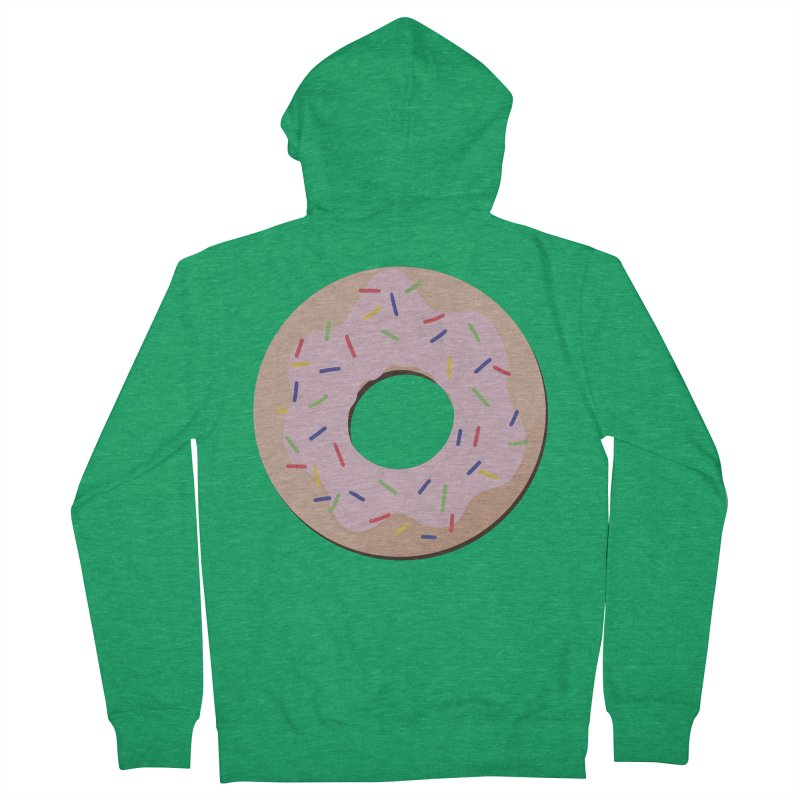 Donut Women's French Terry Zip-Up Hoody by Hello Siyi