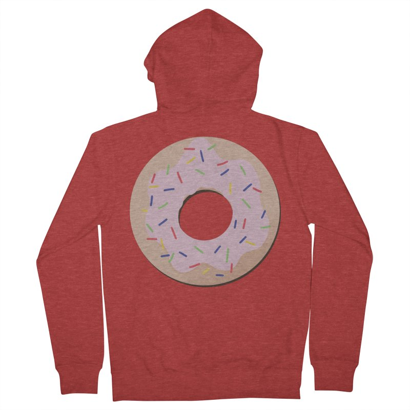 Donut Men's French Terry Zip-Up Hoody by Hello Siyi