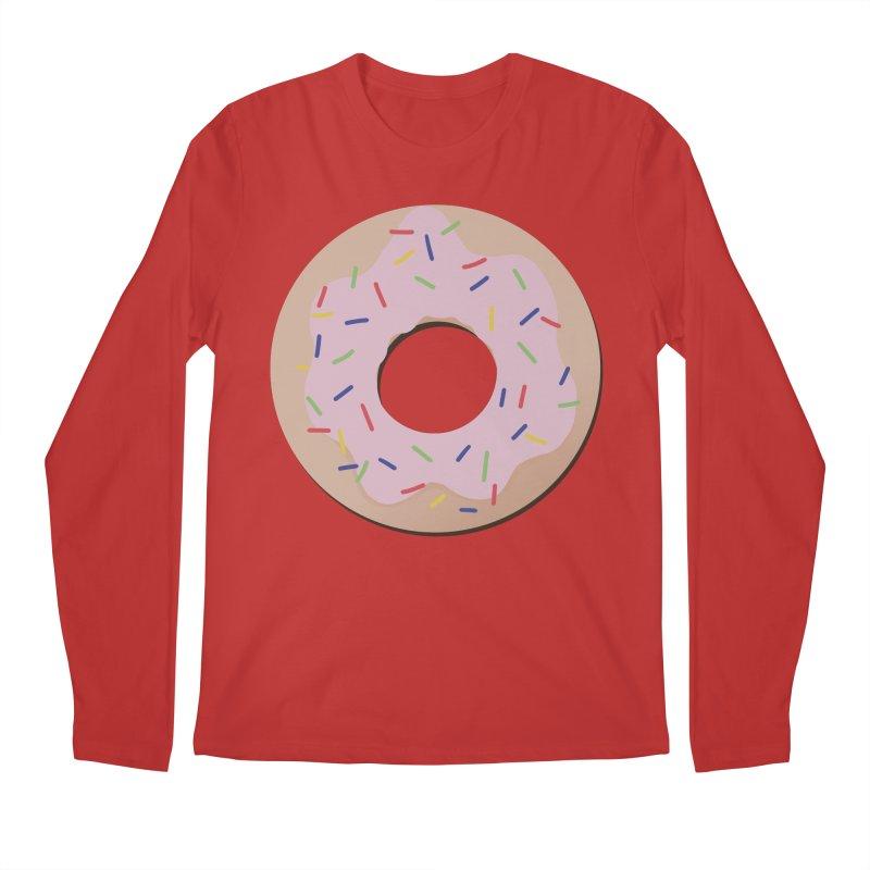 Donut Men's Regular Longsleeve T-Shirt by Hello Siyi