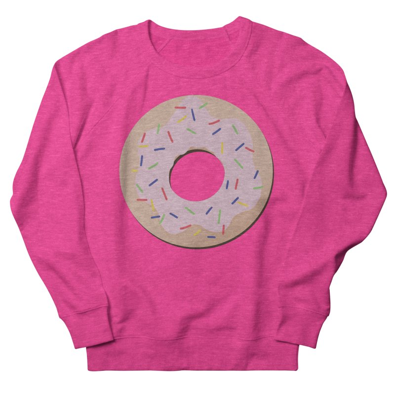 Donut Women's French Terry Sweatshirt by Hello Siyi