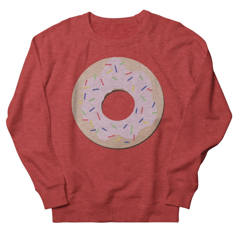 Donut Men's French Terry Sweatshirt by Hello Siyi