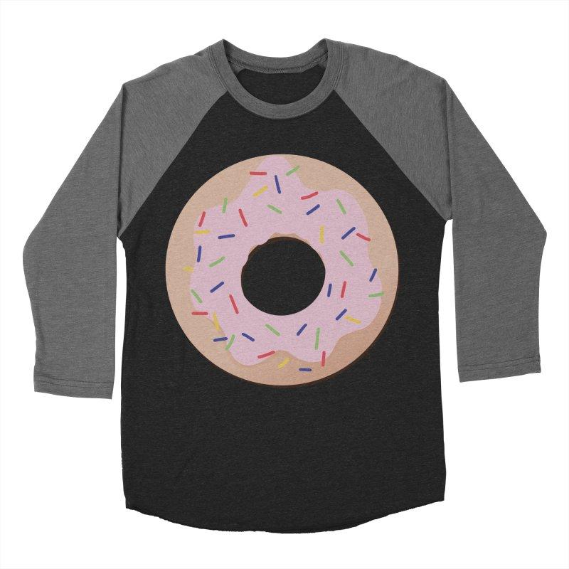 Donut Women's Baseball Triblend Longsleeve T-Shirt by Hello Siyi