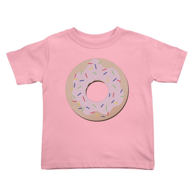 Donut Kids Toddler T-Shirt by Hello Siyi