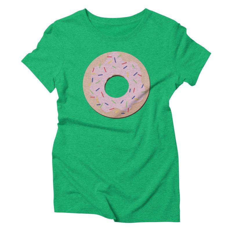 Donut Women's Triblend T-Shirt by Hello Siyi
