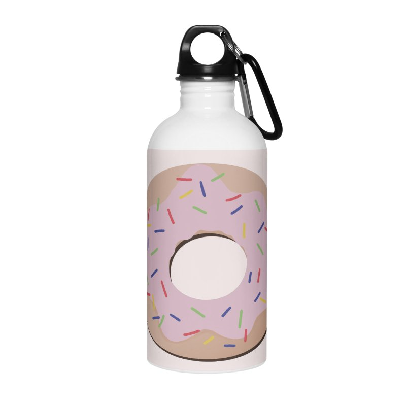 Donut Accessories Water Bottle by Hello Siyi