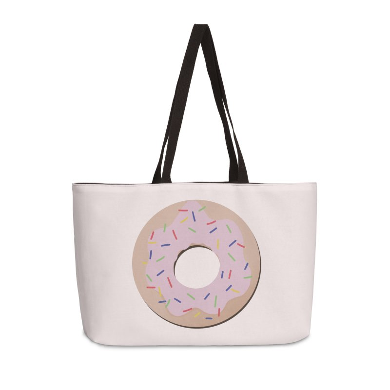 Donut Accessories Weekender Bag Bag by Hello Siyi