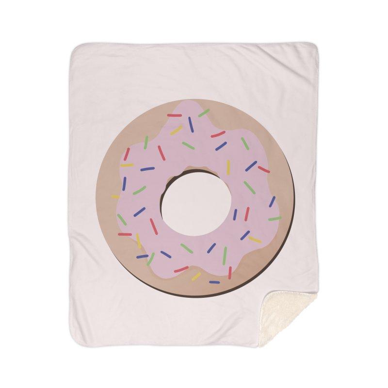 Donut Home Sherpa Blanket Blanket by Hello Siyi