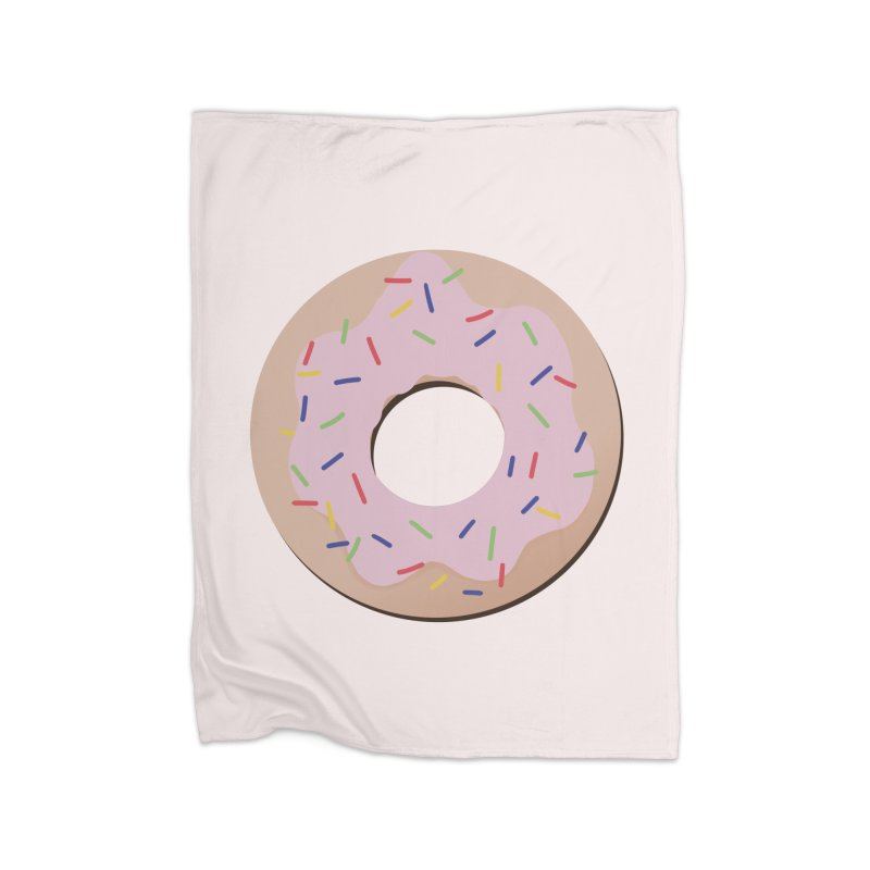 Donut Home Fleece Blanket Blanket by Hello Siyi