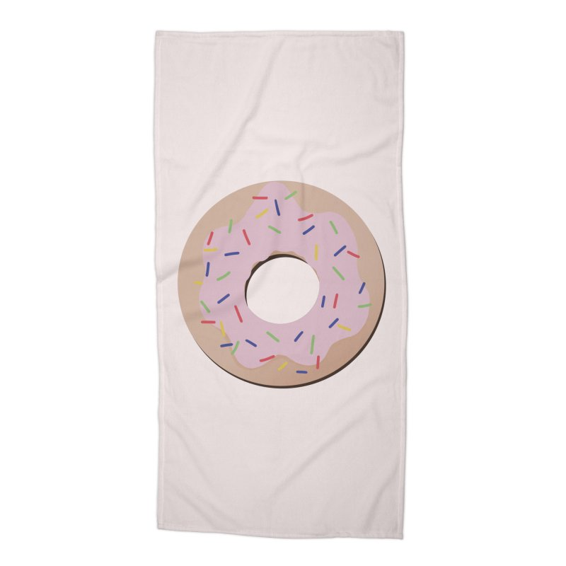 Donut Accessories Beach Towel by Hello Siyi