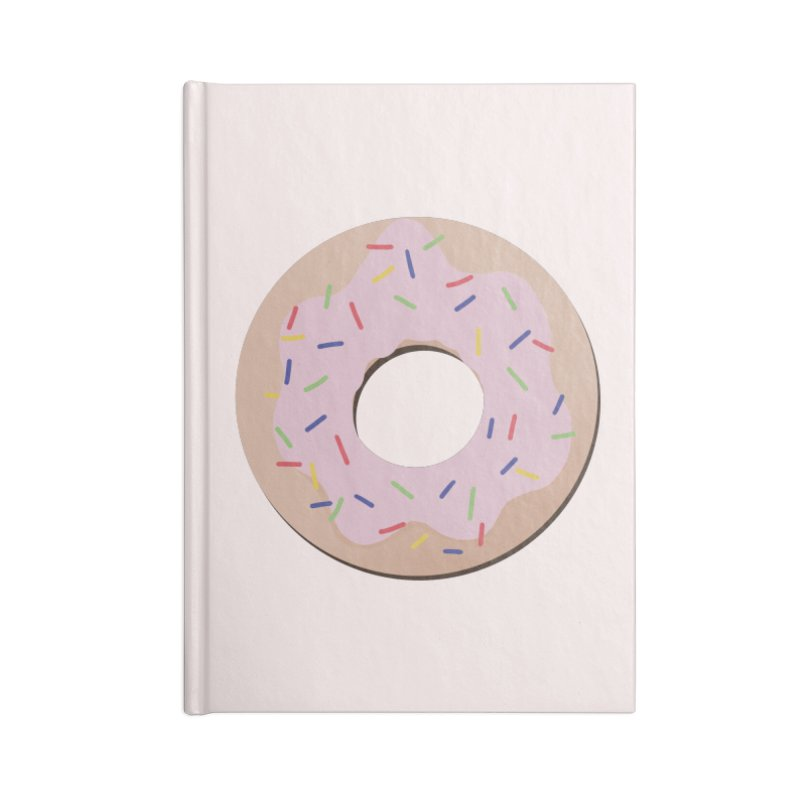 Donut Accessories Blank Journal Notebook by Hello Siyi