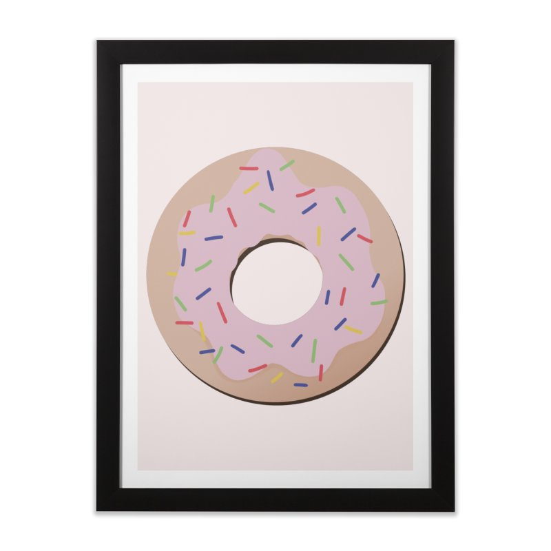 Donut Home Framed Fine Art Print by Hello Siyi