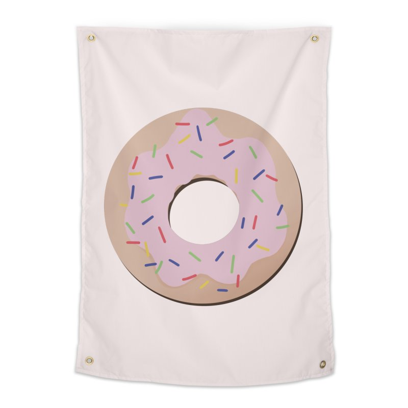 Donut Home Tapestry by Hello Siyi