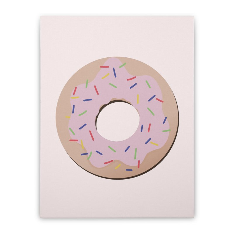 Donut Home Stretched Canvas by Hello Siyi