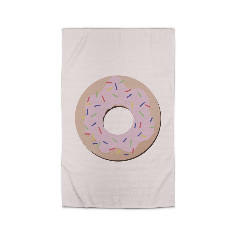 Donut Home Rug by Hello Siyi