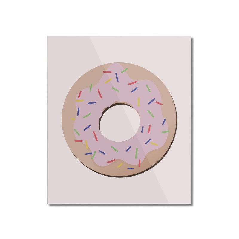 Donut Home Mounted Acrylic Print by Hello Siyi
