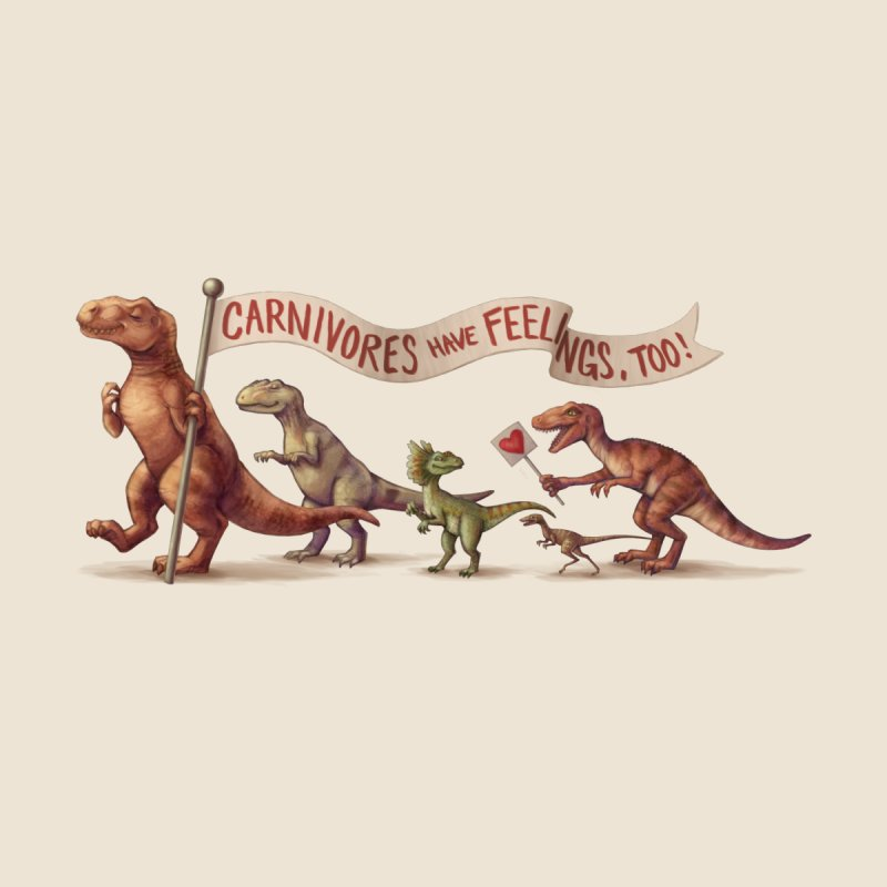 Carnivores None  by SJdzyn's Artist Shop