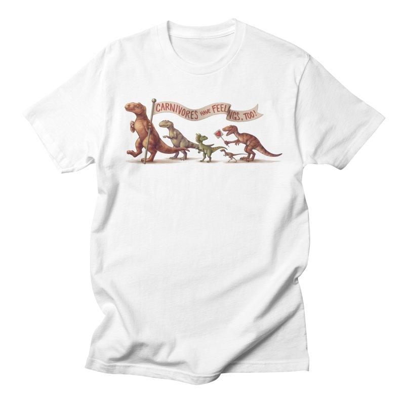 Carnivores Men's T-Shirt by SJdzyn's Artist Shop