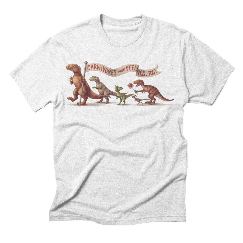 Carnivores Men's Triblend T-shirt by SJdzyn's Artist Shop