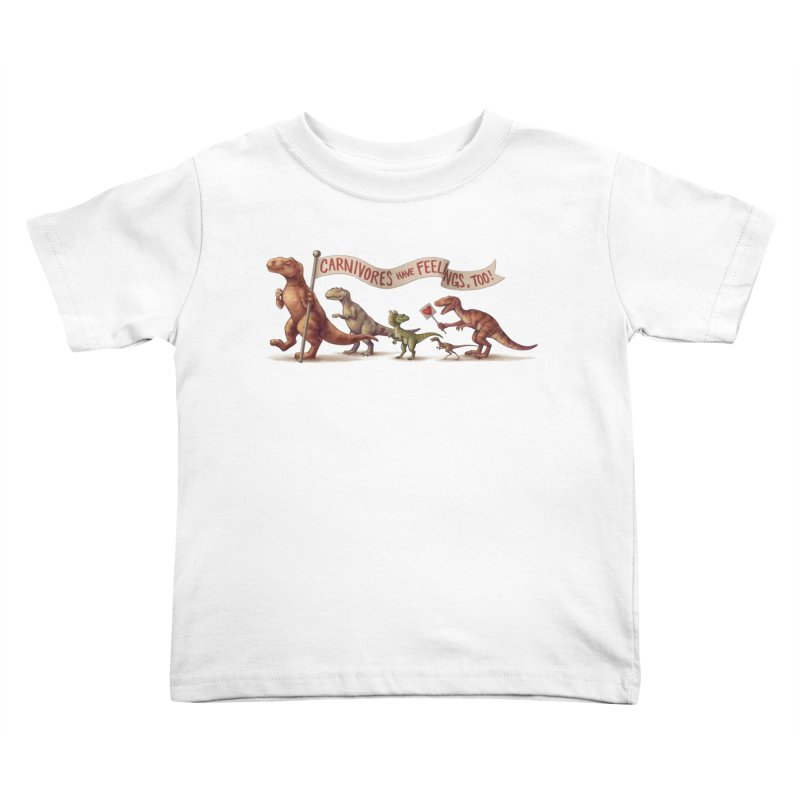 Carnivores Kids Toddler T-Shirt by SJdzyn's Artist Shop