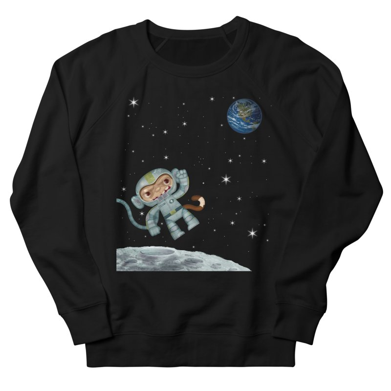Space Monkey - Albert X Women's Sweatshirt by SJdzyn's Artist Shop