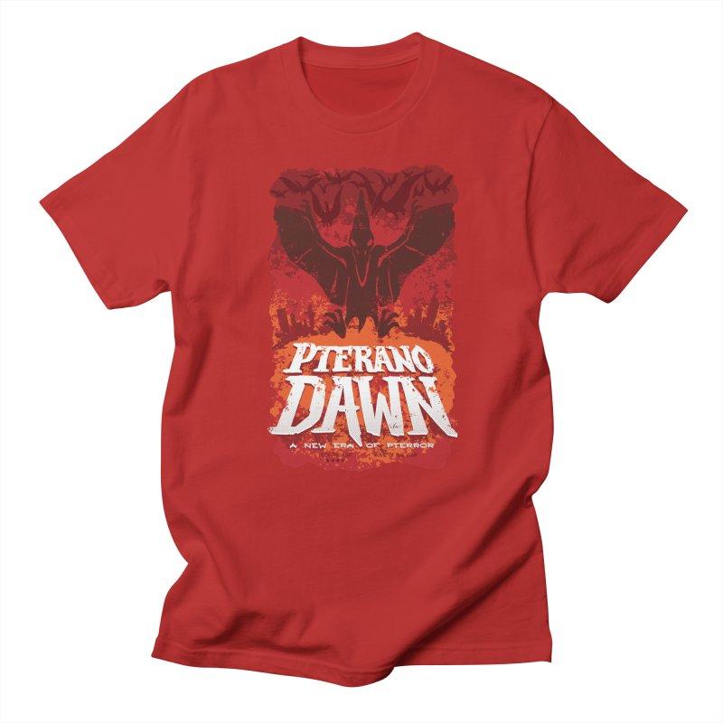 PteranoDawn Men's T-shirt by SJdzyn's Artist Shop