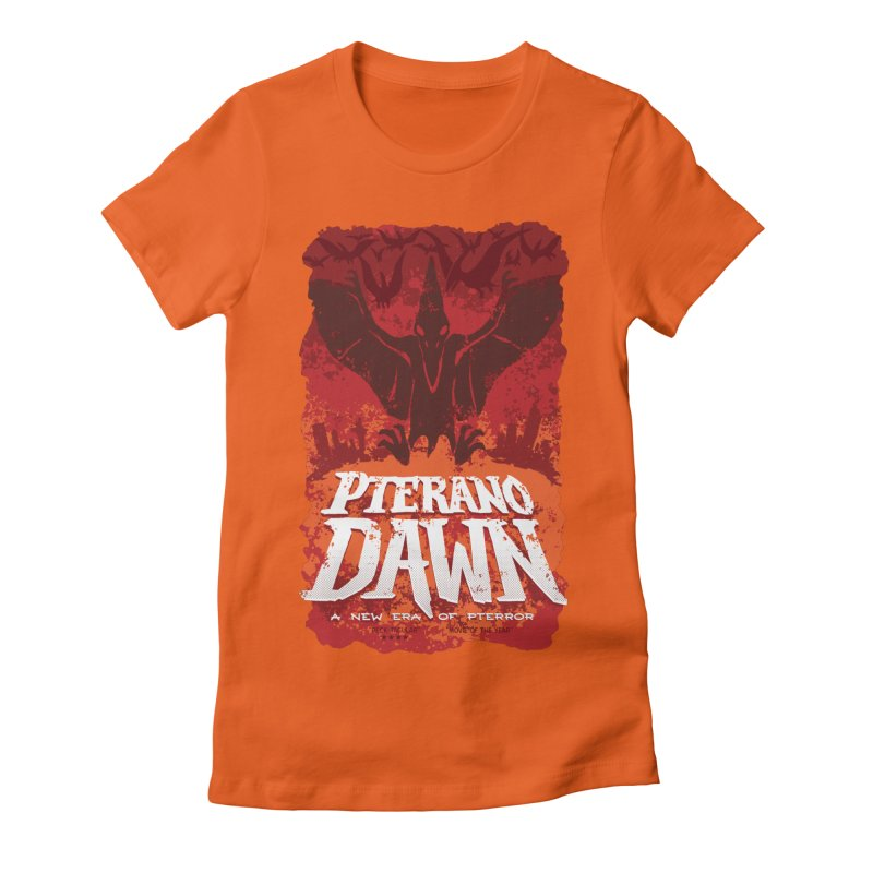 PteranoDawn Women's Fitted T-Shirt by SJdzyn's Artist Shop