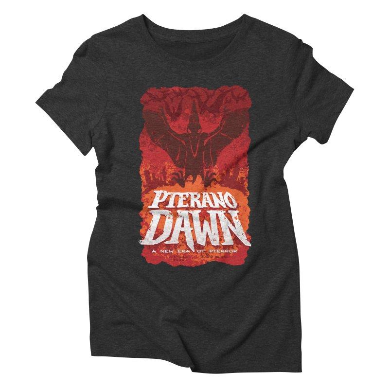 PteranoDawn Women's Triblend T-Shirt by SJdzyn's Artist Shop