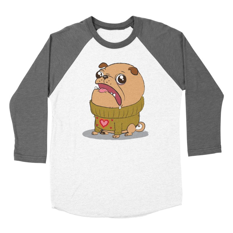 Pugly Sweater Men's Baseball Triblend T-Shirt by SJdzyn's Artist Shop