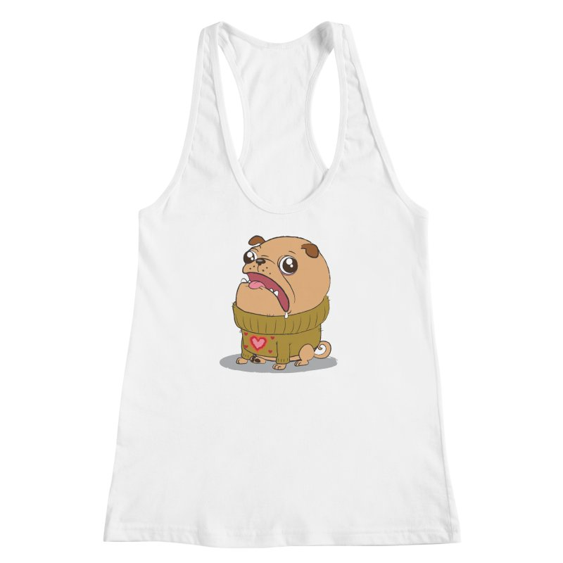 Pugly Sweater Women's Racerback Tank by SJdzyn's Artist Shop