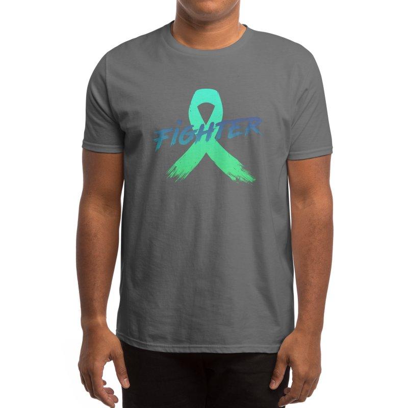 Mental Health Fighter Men's T-Shirt by S K A L L Y